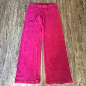 Juicy couture track pants sz Med